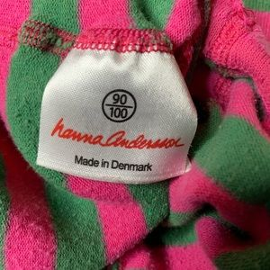Hanna Andersson Accessories - Hanna Andersson Pink and green striped tights